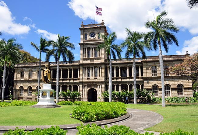 Iolani Palace of Hawaii