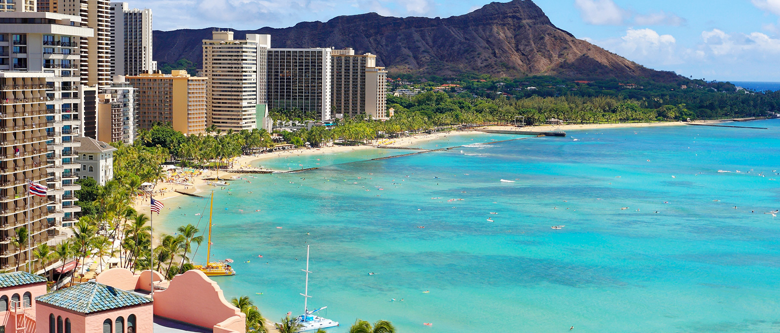 Location of Honolulu Hawaii Hotel